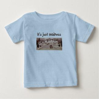 Architecture moderne de la moitié du siècle t-shirt pour bébé