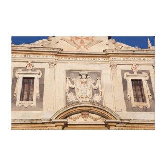 Architecture of Pisa Canvas Print