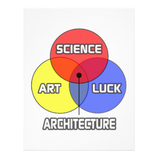 Architecture .. Science Art Luck Letterhead Template