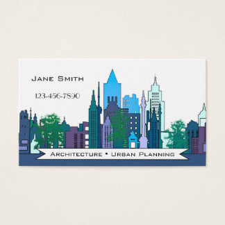 Architecture Urban Planning Business Card