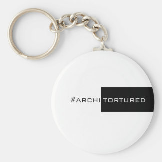 ArchiTorture Basic Round Button Keychain