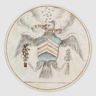 Archive Presidential Seal Sketch