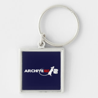Archive Rat (Version 2) Keychain