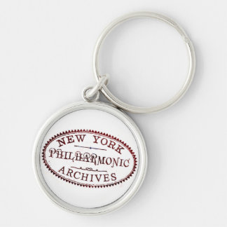 Archives Stamp Keychain