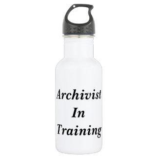 Archivist in Training Water Bottle
