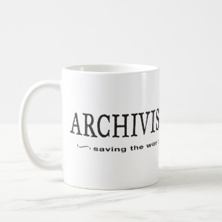 Archivists - Saving the World Mug