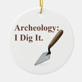 Archology Dig.png Ceramic Ornament