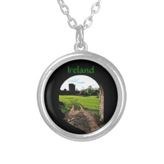 Archway in Ireland Silver Plated Necklace