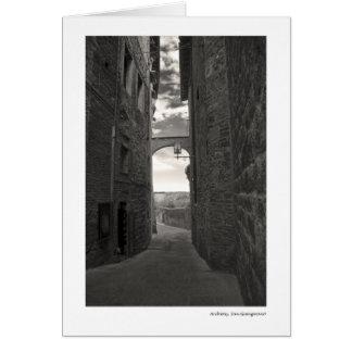 Archway, San Gimignano Card