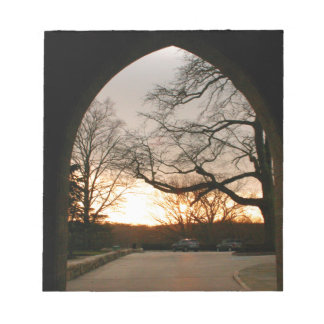 Archway Sunset Notepad