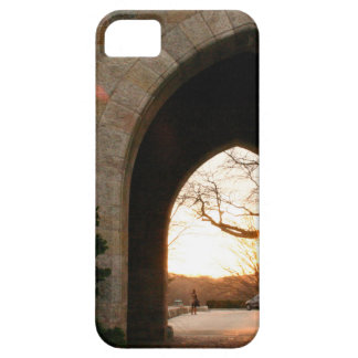 Archway Sunset With Bush Case For The iPhone 5