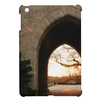 Archway Sunset With Bush iPad Mini Cover