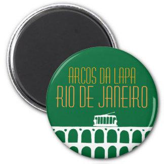 Arcos da Lapa - Brasil Magnet