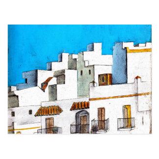Arcos de la Frontera Spain Postcard