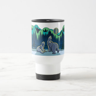 Arctic Art Bear Travel Mug Polar Bear Cup