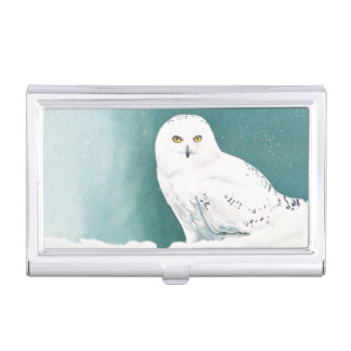 Arctic Eyes Business Card Holder