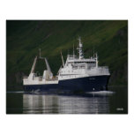 Arctic Fjord, Catcher/Processor in Captain's Bay Poster