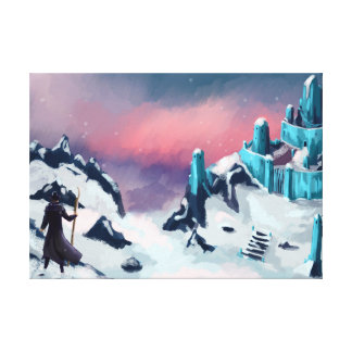 Arctic Fortress Stretched Canvas Prints
