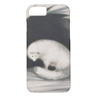 Arctic Fox, from 'Narrative of a Second Voyage in iPhone 7 Case