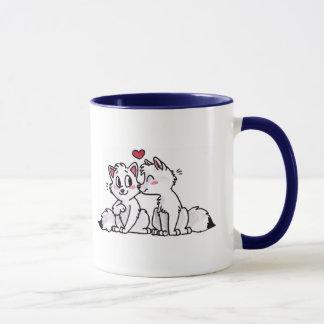 Arctic Fox Kiss Mug