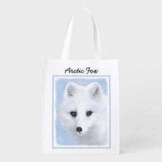 Arctic Fox Reusable Grocery Bag