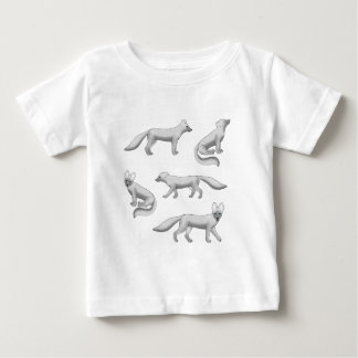 Arctic fox selection baby T-Shirt