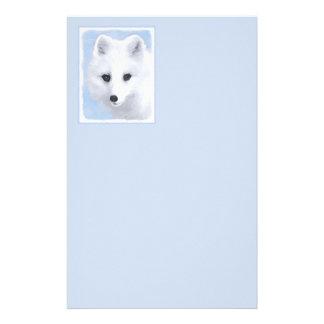 Arctic Fox Stationery Paper