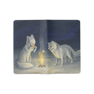 Arctic Foxes and S'mores Notebook