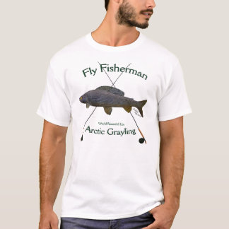 Arctic grayling Fly fishing Tshirt