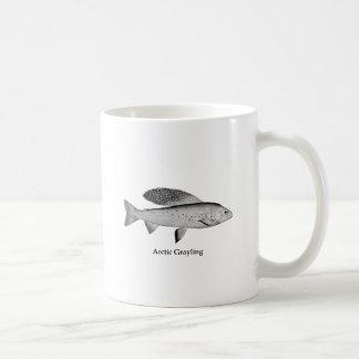 Arctic Grayling Logo (line art) Coffee Mug