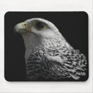 Arctic Gyrfalcon Mouse Pad