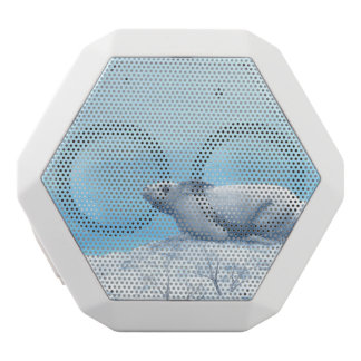Arctic hare, lepus arcticus, or polar rabbit white bluetooth speaker