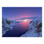 Arctic Landscape Poster