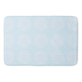 Arctic Mandala Bath Mat