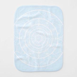 Arctic Mandala Burp Cloth