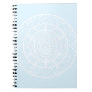 Arctic Mandala Spiral Notebook
