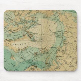Arctic Ocean Antique Map Mouse Pad