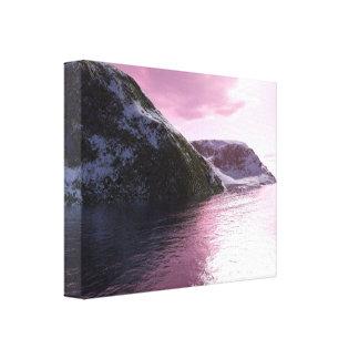 Arctic Pink Canvas Prints