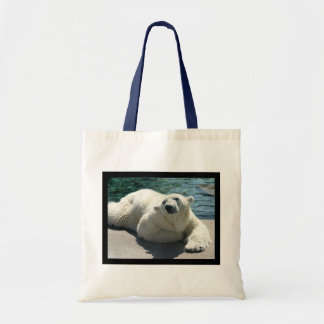Arctic Polar Bear Small Tote Bag
