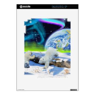 Arctic POLAR BEAR Wildlife Device Decal Skin Decals For iPad 2
