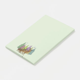 Arctic Reindeer Post-it Notes