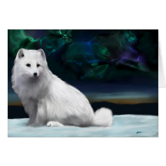 Arctic spirit  greeting card