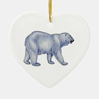 Arctic Survivor Ceramic Ornament