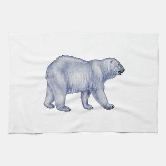 Arctic Survivor Kitchen Towel