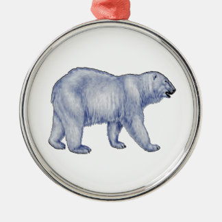 Arctic Survivor Metal Ornament