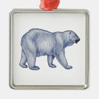 Arctic Survivor Metal Ornament