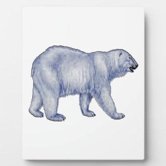 Arctic Survivor Plaque