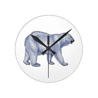 Arctic Survivor Round Clock