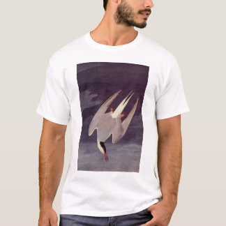 Arctic Tern by John James Audubon, Vintage Birds T-Shirt