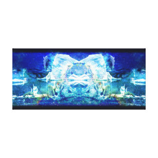 Arctic Void Canvas Gallery Wrapped Canvas